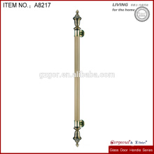 European style stainless steel door handle for wooden door